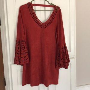 Anthropologie hazel tunic size L